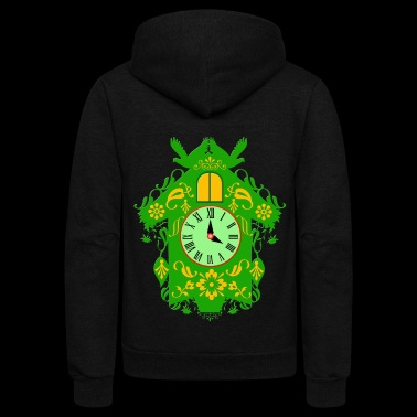cuckoo clock - Unisex Fleece Zip Hoodie