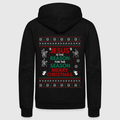 UGLY CHRISTMAS SWEATERS, T-SHIRTS, AND GIFT ITEMS - Unisex Fleece Zip Hoodie by American Apparel