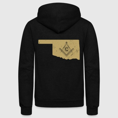 Oklahoma Freemason History Shirt American Freemasons - Unisex Fleece Zip Hoodie by American Apparel
