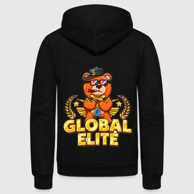 Global Elite - Unisex Fleece Zip Hoodie