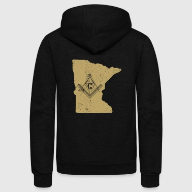 Minnesota Freemason Clothing Masonic Clothing - Unisex Fleece Zip Hoodie