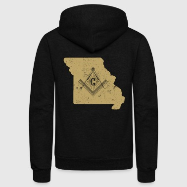 Missouri Freemason Clothing Masonic Clothing - Unisex Fleece Zip Hoodie