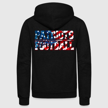 Patriots Football - Unisex Fleece Zip Hoodie