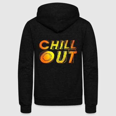 chill out - Unisex Fleece Zip Hoodie