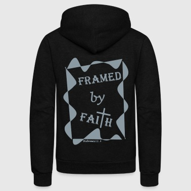 Framed by Faith 11.3 - Mens/Womens/Kids - Unisex Fleece Zip Hoodie