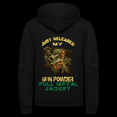 GUN POWDER - Unisex Fleece Zip Hoodie