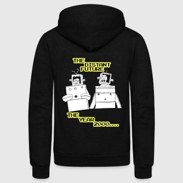 The distant future Robot Newborn - Unisex Fleece Zip Hoodie
