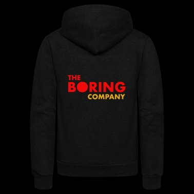 The Boring Company - Unisex Fleece Zip Hoodie