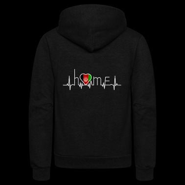 i love home heimat Afghanistan - Unisex Fleece Zip Hoodie