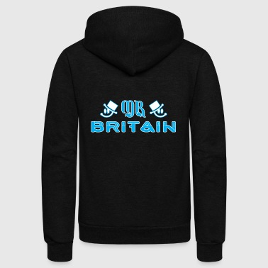 Mr Britain - Unisex Fleece Zip Hoodie
