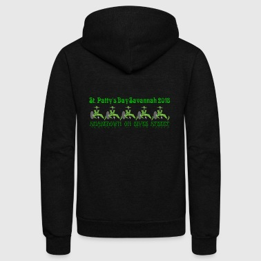 St. Patricks Day Savannah 2018 - Shakedown Street - Unisex Fleece Zip Hoodie
