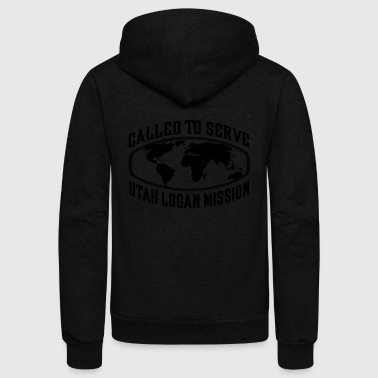 Utah Logan Mission - LDS Mission CTSW - Unisex Fleece Zip Hoodie by American Apparel