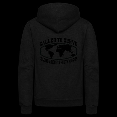 Colombia Bogota South Mission - LDS Mission CTSW - Unisex Fleece Zip Hoodie