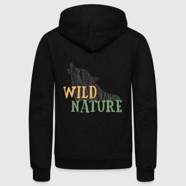 Wild nature - Unisex Fleece Zip Hoodie