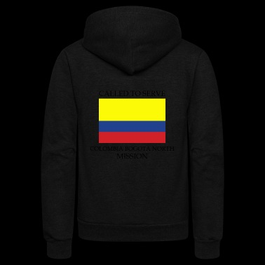 Colombia Bogota North LDS Mission Called to - Unisex Fleece Zip Hoodie