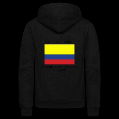 Colombia Bogota South LDS Mission Called to - Unisex Fleece Zip Hoodie