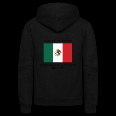 Mexico Mexico City South LDS Mission Called to - Unisex Fleece Zip Hoodie
