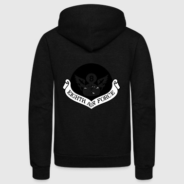 8th Air Force - Unisex Fleece Zip Hoodie