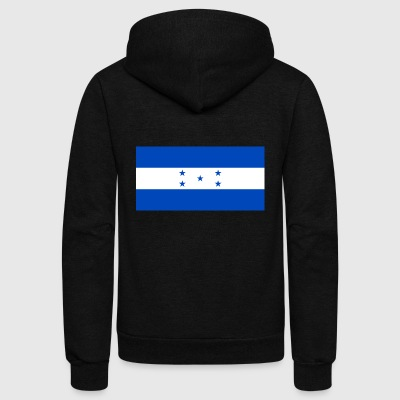 Honduras - Unisex Fleece Zip Hoodie by American Apparel