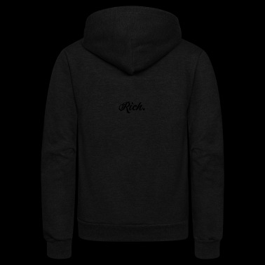 Rich Richard Wealthy Blogger Instagram Gift - Unisex Fleece Zip Hoodie