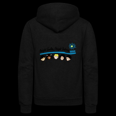 Bright Smiles Bright Futures - Unisex Fleece Zip Hoodie