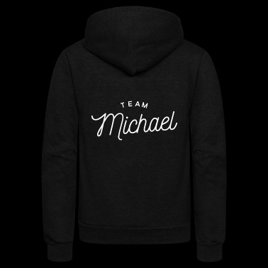 Team Michael - Unisex Fleece Zip Hoodie