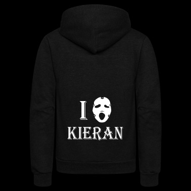 scream - Unisex Fleece Zip Hoodie
