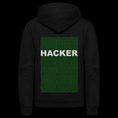 computer geek hacker limited edition wear - Unisex Fleece Zip Hoodie