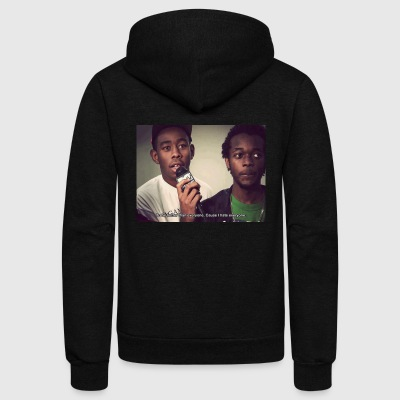 Tyler the creator motivation - Unisex Fleece Zip Hoodie by American Apparel