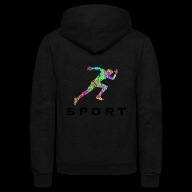 Sport Athlete - Unisex Fleece Zip Hoodie