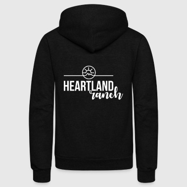 heartland ranch - Unisex Fleece Zip Hoodie