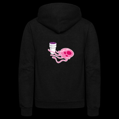 LeanJelly - Unisex Fleece Zip Hoodie