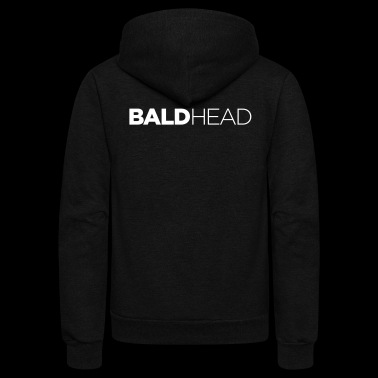 bald head – funny gift idea - Unisex Fleece Zip Hoodie