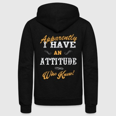 The attitude - Unisex Fleece Zip Hoodie