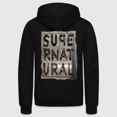 supernatural - Unisex Fleece Zip Hoodie by American Apparel
