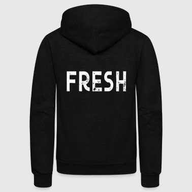 fresh - Unisex Fleece Zip Hoodie
