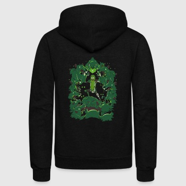 Pickle Rick - Unisex Fleece Zip Hoodie