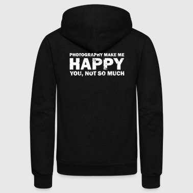 Photography Tee Shirt - Unisex Fleece Zip Hoodie