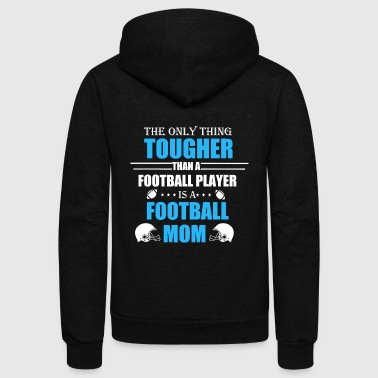 Football Mom - Unisex Fleece Zip Hoodie