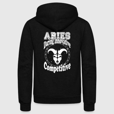STYLISH ARIES SHIRT - Unisex Fleece Zip Hoodie