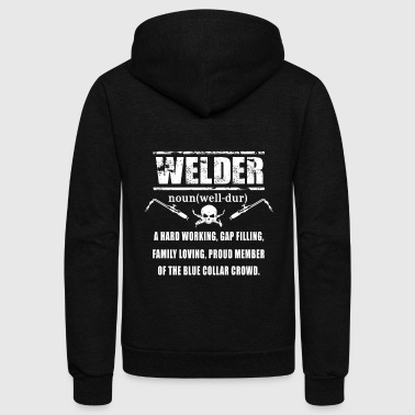 Define Welder T-Shirts - Unisex Fleece Zip Hoodie