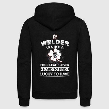 Welder Is Like A T-Shirts - Unisex Fleece Zip Hoodie
