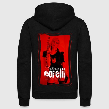 Catherine Corelli Red Sax - Unisex Fleece Zip Hoodie