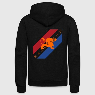 Netherlands - Unisex Fleece Zip Hoodie