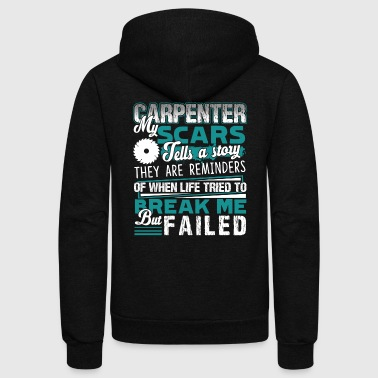 Proud Carpenter Shirt - Unisex Fleece Zip Hoodie