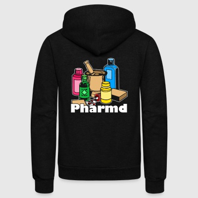 PHARMACY TEE SHIRT - Unisex Fleece Zip Hoodie by American Apparel