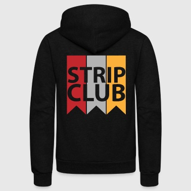 Strip Club - Unisex Fleece Zip Hoodie