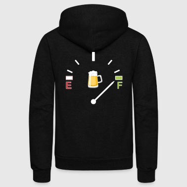 a beer keg - Unisex Fleece Zip Hoodie