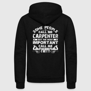 CARPENTER PAPPY SHIRT - Unisex Fleece Zip Hoodie