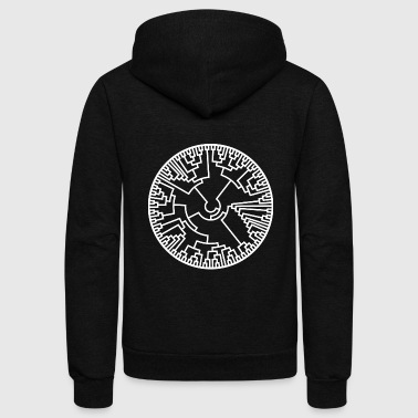 Phylogenetics Evolution Biology Science Gift - Unisex Fleece Zip Hoodie
